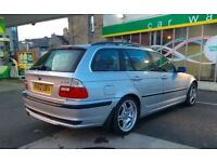 2003 BMW 320 SE TOURING AUTO, FULL LEATHER, FULL SERVICE HISTORY, M SPORT ALLOYS