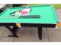 Dunlop 6ft Folding Snooker Table