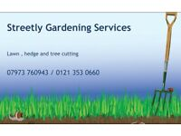 Gardening services streetly West Midlands