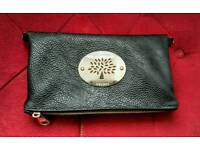 Mulberry leather cluch bag
