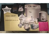 Brand New Tommee Tippee Essential Starter Kit. Never been used, still in box.
