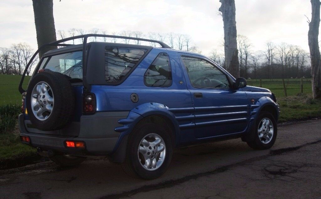 Land Rover Freelander 2001 1.8i (Petrol, Manual) MOT: JAN 2018 £500 ONO
