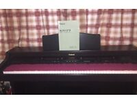 Roland KR-177 Digital Intelligent Piano with stool. Three instruments in one. Excellent condition.