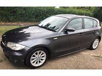 BMW 118D, 2.0, SPORT,MANUAL,146K, 5 DOOR,H/LEATHER,SH