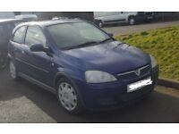 Vauxhall Corsa 2004 1.2L **BRAND NEW MOT** 98,000 Miles