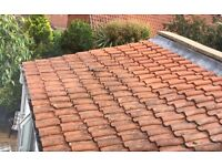 Clay pan roof tiles - 135 in total