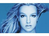 2 BRITNEY SPEARS TICKETS - NEXT SATURDAY 18/8