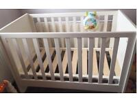 Mamma and Pappa's cot bed
