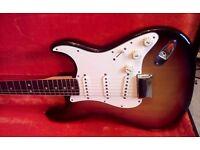1973 fender Stratocaster USA Sunburst OHSC 9.7/10