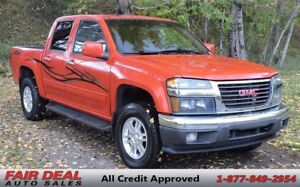 2012 GMC Canyon SLE Crew Cab 4x4: Tow & OnStar Package