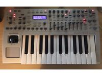 Novation ReMote 25 audio X Station synthesiser Midi Keyboard KS synth Audio interface