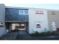 2 bed house with garden for rent, cumbernauld village