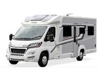 Majestic motorhome for hire from Scotton motorhome hire. 01423797050 Hire per night £85