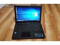 "NEW Asus X551MA Laptop 15.6"" Dual core ,HDMI,DVDRW, 4GB RAM 1000GB HDD Windows 10"