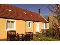 ALVA COTTAGE, Paxton, Berwickshire, Scottish Borders, 7 nights £380 Sat 17th - 24th Sep