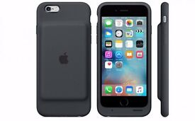 Apple iPhone 6/6S Smart Battery Case (Black)