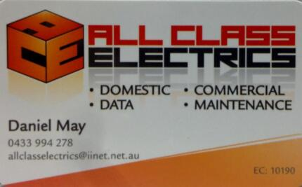 Electrician- ALL CLASS ELECTRICS Joondalup Joondalup Area Preview