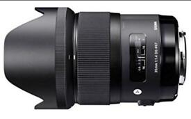 Sigma 35mm F1.4 DG HSM Lens for Canon Camera