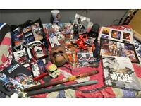 Lot of Star Wars memorabilia 42x items in all