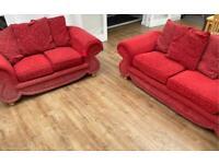 2 and 3 seat sofa set