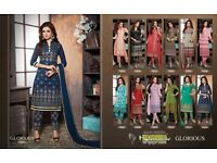 Wholesale khwaish straight salwar suit collection