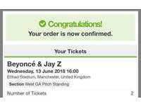 Beyoncé tickets want to swap standing for seated