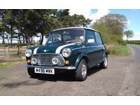 Mini - Mini Cooper 1.3 Classic 1995 British Racing Green, MOT until June 2018, leather interior