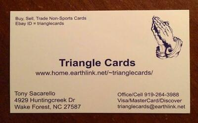 Triangle Cards and Tshirts