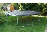 12ft Trampoline for sale £130 ONO with enclosure (pick up only)