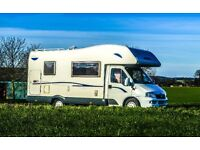BEST VALUE MOTORHOME hire (2-6 berth). Choose according to YOUR BUDGET