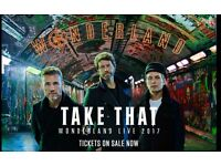 x2 TAKE THAT TICKETS FOR SALE, London 02 Arena, 6th June
