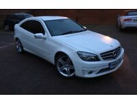 White 2009 Mercedes Benz CLC 180 Kompressor Sport – Automatic - Very Low Mileage - 10 Months MOT!