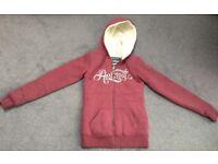 ANIMAL Zip Sherpa Hoodie, size 8