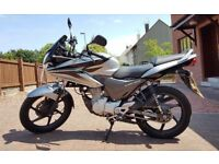 Honda CBF125 motorbike