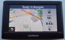 GARMIN nüvi 42 GPS Sat Nav UK & Ire, Iceland, Nordics + Latest FULL North America Map! (no offers!)