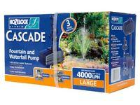 Hoselock Cascade 4000 large Pond Pump