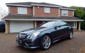 Mercedes E350 CDI BLUEEFFICIENCY SPORT (grey) 2013