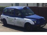 London Taxi TX1 - Bristol Blue - Auto 2000