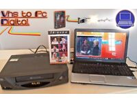 VHS Video Player / Recording Kit ~ Convert Transfer VHS Tape to PC Digital DVD + VIDEO PLAYER