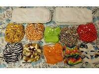 Reusable nappies and inserts