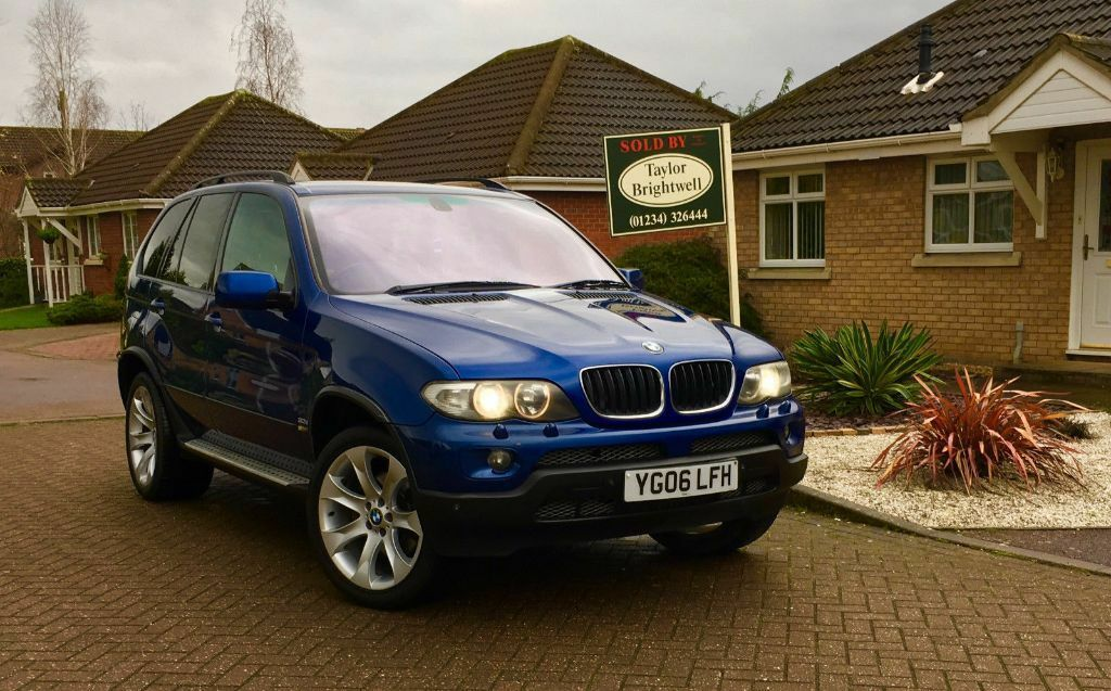 fully loaded 2006 bmw x5 3 0 d sport exclusive le mans blue edition px x3 730 530 535 m3. Black Bedroom Furniture Sets. Home Design Ideas