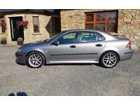 2007 saab 93 1.9 tdi sport full mot sat nav f/s/h stunning car no faults
