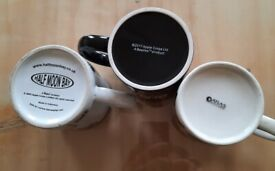 3 x Beatles mugs