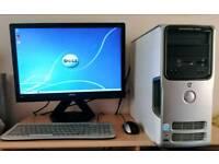 Dell Dimension E520 - Home Media Desktop Computer Tower PC Set-up