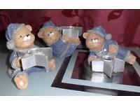 3 weihnachtliche Teddys - Kerzenhalter Duisburg - Rheinhausen Vorschau