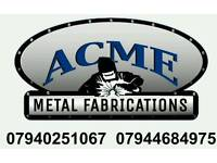 Welding and fabrication work