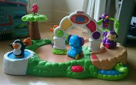 Fisher price musical spinning zoo