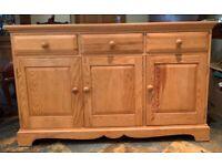 Ercol Vintage Pine Sideboard -3 Door/3 drawer