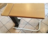 Portable office / over bed / table / desk height adjustable and tilt option - will deliver if local