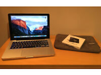 Apple MacBook Pro (13-inch, Mid 2009). Refurbished, with brand-new Samsung 850 EVO 250GB SSD.